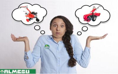 ¿Motocultor o motoazada?