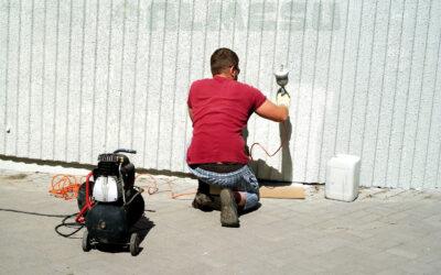 ¿Cómo pintar paredes con gotelé?